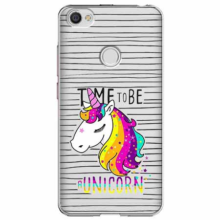 Etui na Xiaomi Note 5A Prime - Time to be unicorn - Jednorożec.