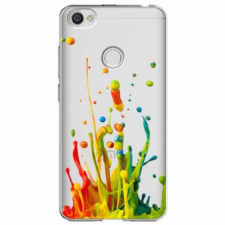 Etui na Xiaomi Note 5A Prime - Kolorowy splash.