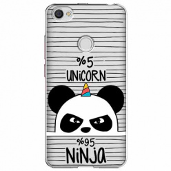 Etui na Xiaomi Note 5A Prime - Ninja Unicorn - Jednorożec.