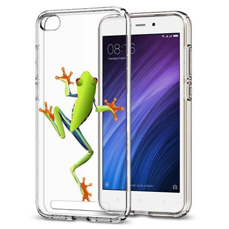Etui na Xiaomi Redmi 5A - Zielona żabka.