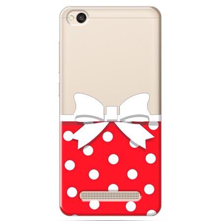 Etui na Xiaomi Redmi 5A - Gustowna kokardka.