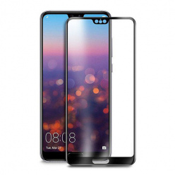 Huawei P20 Pro hartowane szkło 5D Full Glue - Czarny.