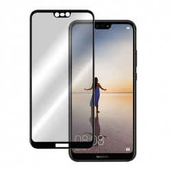 Huawei P20 hartowane szkło 5D Full Glue - Czarny.