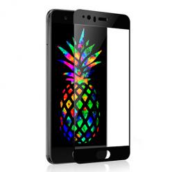Huawei P10 - hartowane szkło 5D na cały ekran - Czarny.