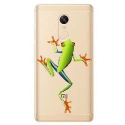 Etui na Xiaomi Redmi 5 Plus - Zielona żabka.