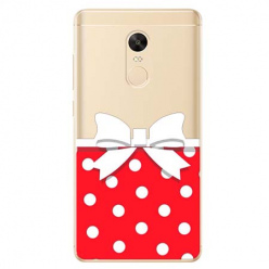 Etui na Xiaomi Redmi 5 Plus - Gustowna kokardka.