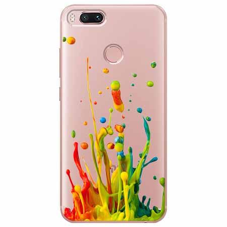 Etui na Xiaomi Mi 5x - Kolorowy splash.