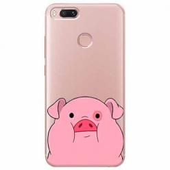 Etui na Xiaomi Mi 5x - Słodka różowa świnka.