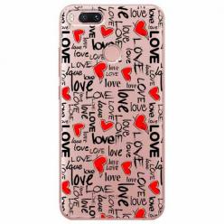 Etui na Xiaomi Mi A1 - Love, love, love…