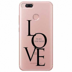 Etui na Xiaomi Mi A1 - All you need is LOVE.