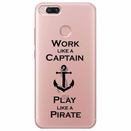 Etui na Xiaomi Mi A1 - Work like a Captain…