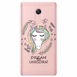 Etui na Xiaomi Note 4 Pro - Dream unicorn - Jednorożec.