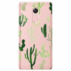 Etui na Xiaomi Note 4 Pro - Kaktusowy ogród.