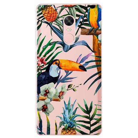 Etui na Xiaomi Note 4 Pro - Egzotyczne tukany.