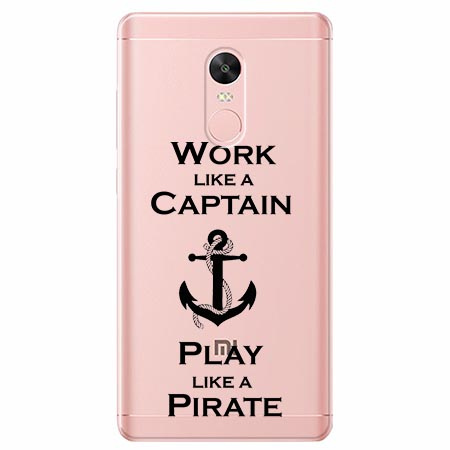 Etui na Xiaomi Note 4 Pro - Work like a Captain…