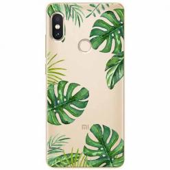 Etui na Xiaomi Note 5 Pro - Egzotyczne roślina monstera.