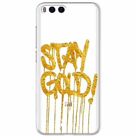 Etui na Xiaomi Mi 6 - Stay Gold.