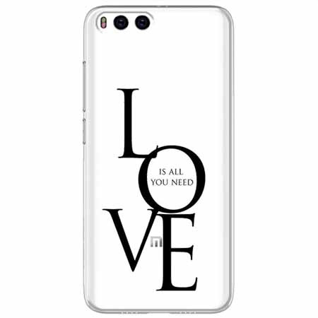 Etui na Xiaomi Mi 6 - All you need is LOVE.