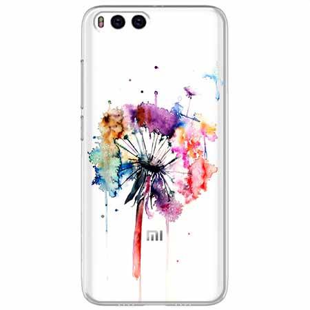 Etui na Xiaomi Mi 6 - Watercolor dmuchawiec.