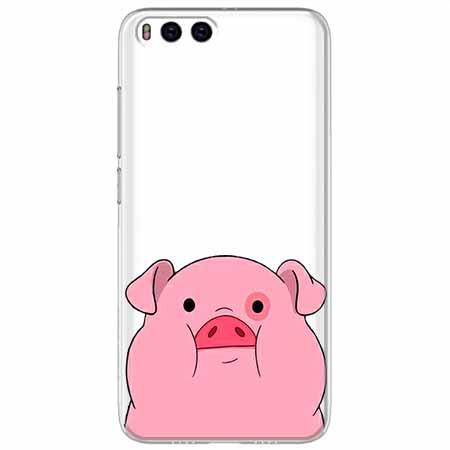 Etui na Xiaomi Mi 6 - Słodka różowa świnka.