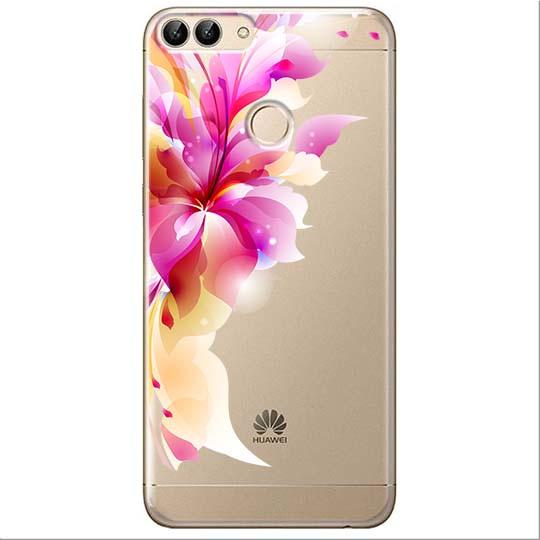 Etui na Huawei P Smart - Bajeczny kwiat.