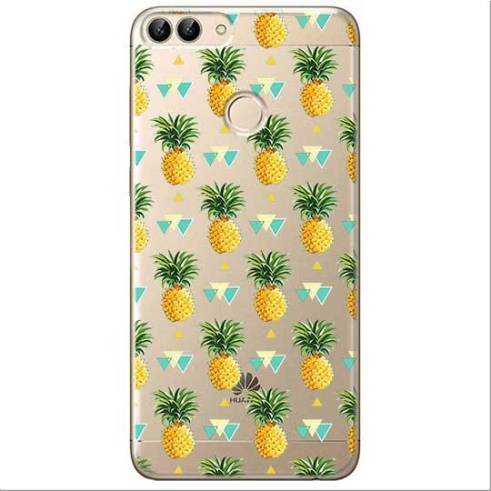 Etui na Huawei P Smart - Ananasowe szaleństwo.