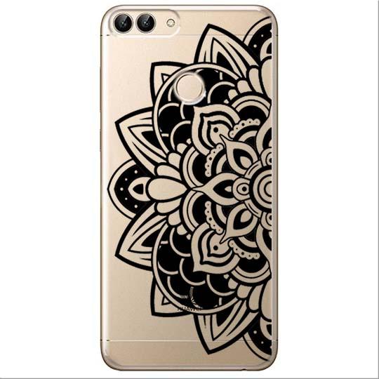Etui na Huawei P Smart - Kwiatowa mandala.