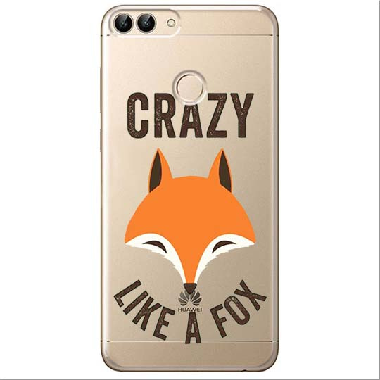 Etui na Huawei P Smart - Crazy like a fox.