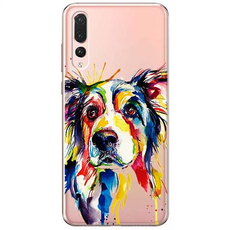 Etui na Huawei P20 Pro - Watercolor pies.