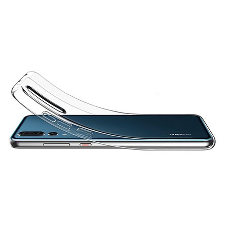Etui na Huawei P20 Pro - Tęczowy jednorożec na chmurce.