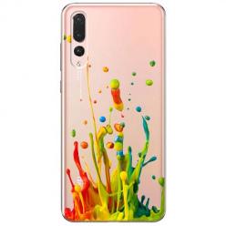 Etui na Huawei P20 Pro - Kolorowy splash.
