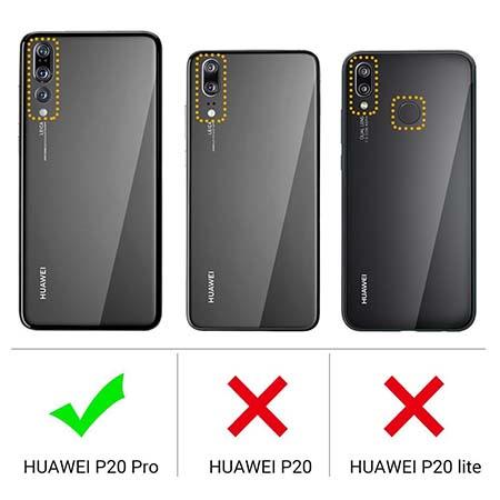 Etui na Huawei P20 Pro - Gustowna kokardka.