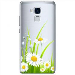 Etui na Huawei Honor 7 Lite - Polne stokrotki.