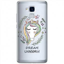 Etui na Huawei Honor 7 Lite - Dream unicorn - Jednorożec.
