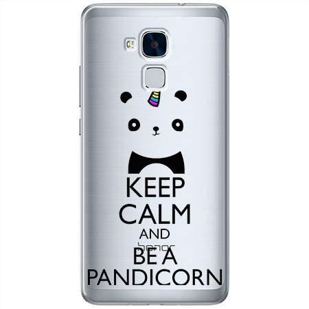 Etui na Huawei Honor 7 Lite - Keep Calm… Pandicorn.