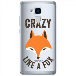 Etui na Huawei Honor 7 Lite - Crazy like a fox.