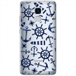 Etui na Huawei Honor 7 Lite - Ahoj wilki morskie.