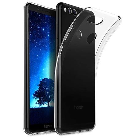 Etui na Huawei Honor 7X - Złota czterolistna koniczyna.