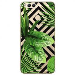 Etui na Huawei Honor 7X - Egzotyczne liście bananowca.
