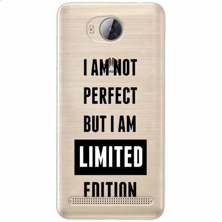 Etui na Huawei Y3 II - I Am not perfect…