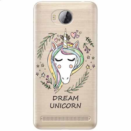 Etui na Huawei Y3 II - Dream unicorn - Jednorożec.