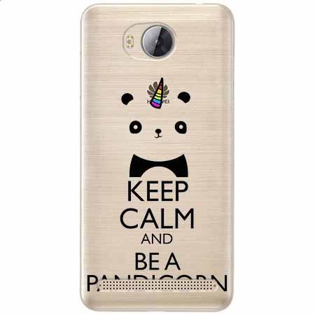Etui na Huawei Y3 II - Keep Calm… Pandicorn.