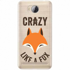 Etui na Huawei Y3 II - Crazy like a fox.