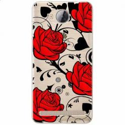 Etui na Huawei Y3 II - Czerwone róże.