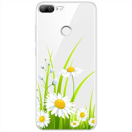 Etui na Huawei Honor 9 Lite - Polne stokrotki.