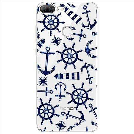 Etui na Huawei Honor 9 Lite - Ahoj wilki morskie.