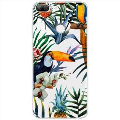 Etui na Huawei Honor 9 Lite - Egzotyczne tukany.