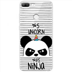 Etui na Huawei Honor 9 Lite - Ninja Unicorn - Jednorożec.
