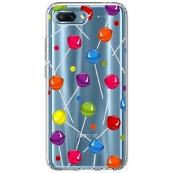 Etui na Huawei Honor 10 - Kolorowe lizaki.