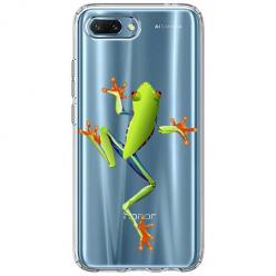 Etui na Huawei Honor 10 - Zielona żabka.